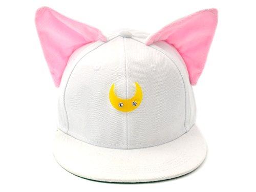 on Basecap mit Katzenohren, Weiß ()