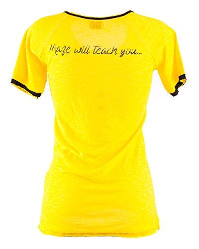 Maze Shirt MSH1-53-02 Yellow