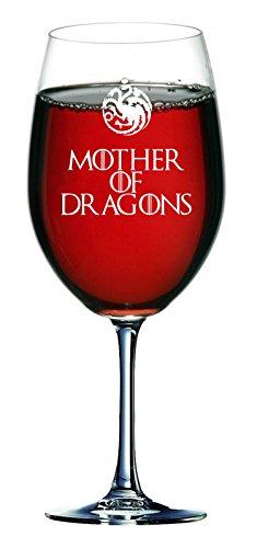 Copa de vino Madre de los dragones de la casa Stark 750ml