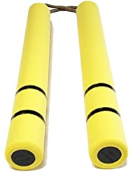 Dragon Bruce Lee Game of Death yellow yellow rubber nunchaku (japan import)