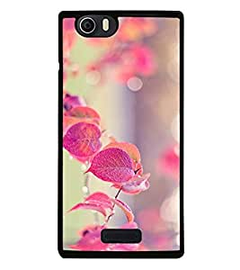 Fuson Premium 2D Back Case Cover Floral Pattern With Brown Background Degined For Micromax Canvas Nitro 2 E311::Micromax Canvas Nitro 2 (2nd Gen)