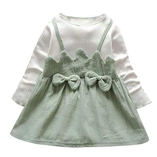 Baby Kleid(6M-24M) Blume Baby Mädchen Prinzessin Kleid Brautjungfer Pageant Kleid Geburtstag...