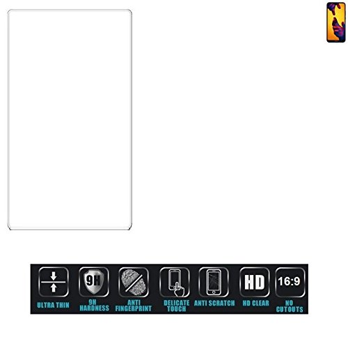 Für Huawei P20 Lite Dual-SIM Schutzglas Glas Schutzfolie Glasfolie Bildschirmschutzfolie Bildschirmschutz Hartglas Tempered Glass Verb&glas für Huawei P20 Lite Dual-SIM 16:9 Format, bedeckt nicht d