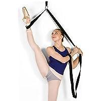 Ballet Yoga elástico cinturón elástico correa de estiramiento ejercicio Fitness bandas perfecto para casa o gimnasio pie elástico bandsballet Cheer danza gimnasia entrenador Premium estiramientos equipo para ballet, danza