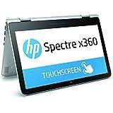 """HP Spectre x360 13-4107nf PC Portable Tactile 13.3"""" Argent (Intel Core i5, 4 Go de RAM, SSD 128 Go, Windows 10)"""