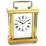 London Clock - 03070 - reloj carrillón de sobremesa acabado dorado