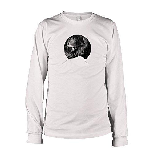 Wars Walk E Star Kostüm (TEXLAB - AT-AT Howl - Langarm T-Shirt, Herren, Größe XXL,)