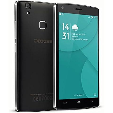 Doogee X5 MAX PRO - Mejorado 2 GB de RAM + 16GB Android 6.0 Smartphone 4G (huella digital, de cuatro núcleos, 5,0