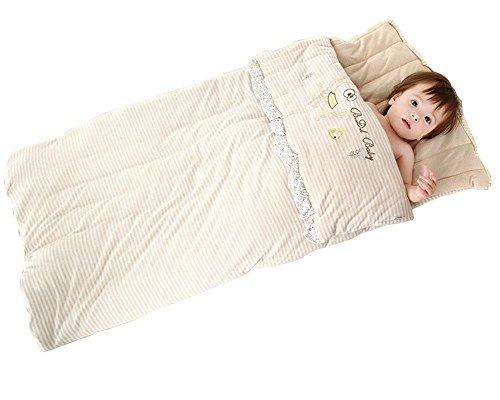 LINAG Sacchi Nanna per Bambino Sacco A Pelo Invernale Fasciare Regolabile Sleepsack Arrampicata Trapunta