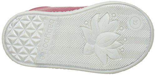 babybotte - Aiclair, Pantofole a Stivaletto Bambina Rose (Rose Framboise Glitter)