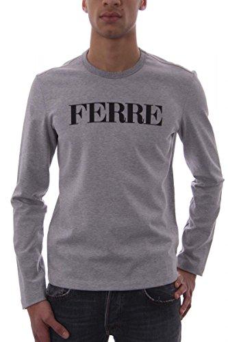 gianfranco-ferre-felpa-uomo-grigio-chiaro-melange-s