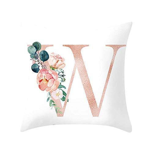 linyiming-kaodianop-1 HSU Dekokissen für Sofa Letter Pillow Alphabet Kissenaufdruck für Sofa Home Decoration Blumenkissen Coussin decoratif, W