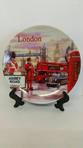 Assiette décorative Souvenir de Londres 15 cm