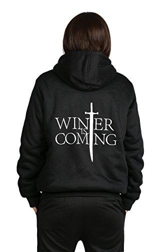 Winter Pullover Hoodie Herren Dick Plus Samt Pulli Sweatshirt Mantel Jacke Cosplay Kostüm Kleidung für (Arya Kostüm Cosplay)