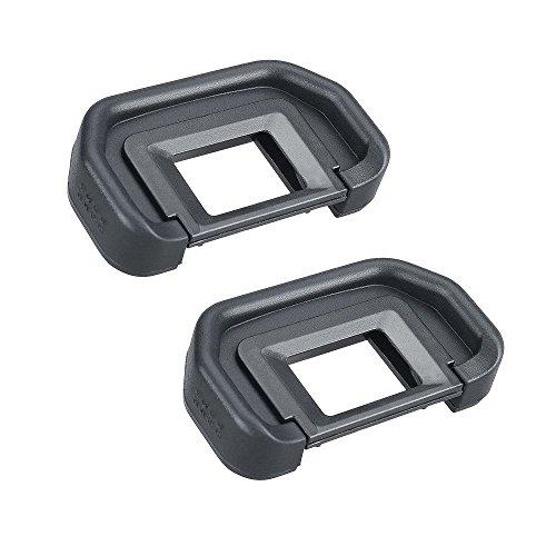 Fotosnow Cámara Eyecup Ocular 18mm EB Replacement Viewfinder Protector para Canon 50D 40D 30D 20D 10D 5D Mark II 5D EOS 5D 20D 30D 10D D60 y más