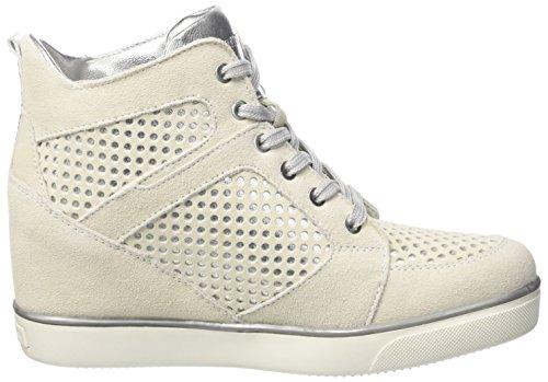 Lumberjack Marisa, Sneaker a Collo Alto Donna Grigio (Lt Grey/Silver)
