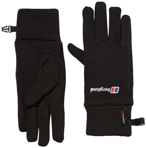 Berghaus Uni Handschuh  Powerstretch AU, black, S/M, 4-47354/1