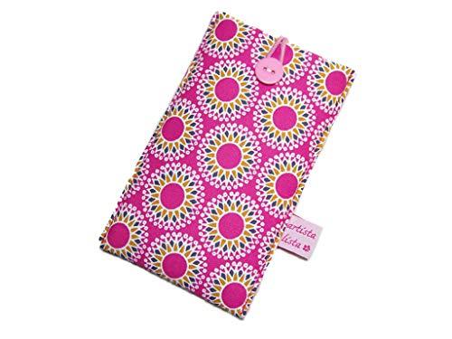 Xr Shift (Handyhülle Stern Mandala pink Handytasche Smartphonehülle, z.B. für iPhone 4 4S 5 5S 6 6S 7 Plus 8 Plus X XR XS Max)