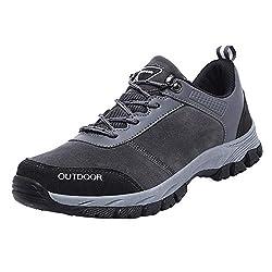 Overmal Herren Atmungsaktiv Komfortable Outdoor Sports Schuhe Flut Schuhe rutschfeste Basketball Wanderschuhe Verschleißfestigkeit Stoßdämpfung Trainingsschuhe Fitness Sneakers Jogging Turnschuhe