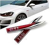 Volkswagen GTI Emblème pour garde-boue - Set Gauche et Droite