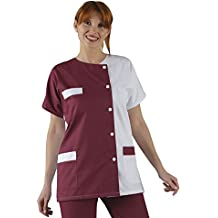 Label Blouse Etiqueta Blusa Mujer de Bata de Laboratorio