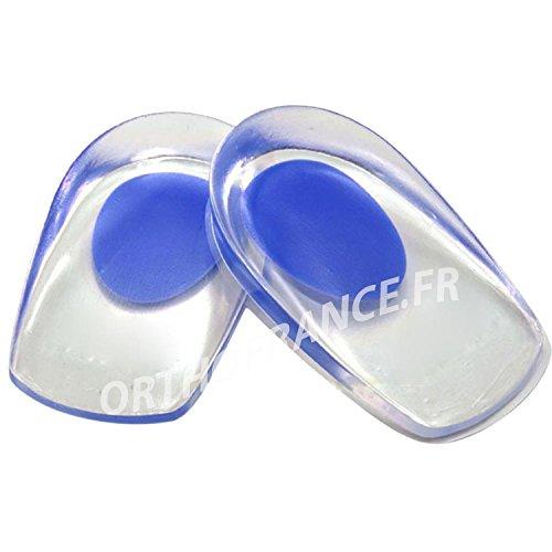 1 Paar Gel-Fersenkissen bei Fersensporn Kissen Fersenkissen Pain ULTRA HEEL (Gr.40-45, Blau) -