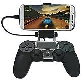MP power @ Teléfono Sostenedor Del Montaje Clip Abrazadera Para Celular Controlador PlayStation 4 PS4 para Iphone Samsung HTC Sony LG