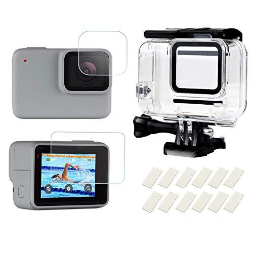 SHOOT Custodia Impermeabile Protettiva per GoPro Hero 7 White e Hero 7 Silver con...