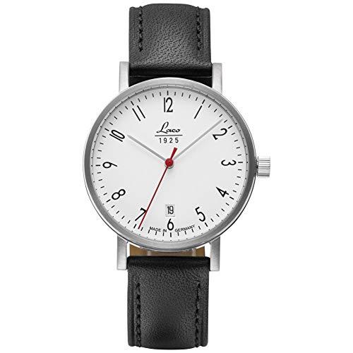 Armbanduhr Classic Halle 38 von Laco – Made in Germany – 38mm Ø hochwertige Automatikuhr – Einzigartige Qualität. Herausragende Verarbeitung – Wasserdicht im zeitlosem...