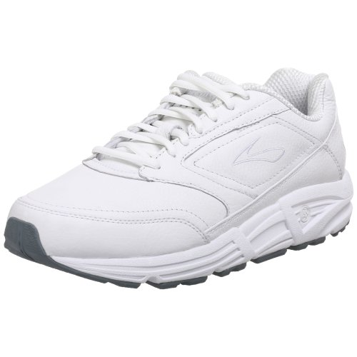 Brooks Men's Addiction Walker 4E White Casual Shoe 9.5 4E Men US