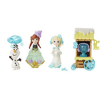 Frozen Disney Little Kingdom Ice Skating Scene Set