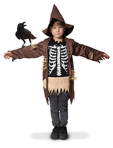 Imagen de espantapajaros niño medidas 116 134 talla m halloween carnaval disfraz niño alternativa