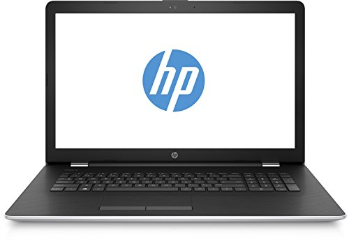 HP 17-bs049ng 2CP88EA 43,9 cm (17,3 Zoll / HD+) Laptop (Intel Core i3-6006U, 8GB RAM, 256GB SSD, AMD Radeon 520 Grafikkarte, Windows 10 Home 64) silber/schwarz
