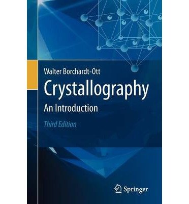 Crystallography by Borchardt-Ott, Walter ( AUTHOR ) Sep-28-2011 Paperback