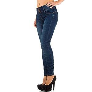 Damen Jeans, USED LOOK KNITTER SKINNY, KL-J-2D25