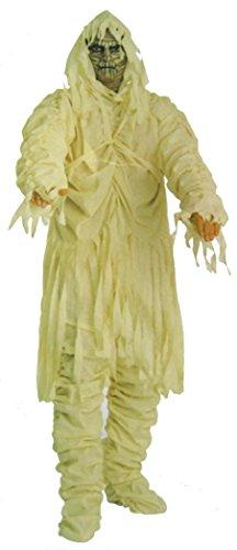 Mumien-Verkleidung Gr. 52/54 Grim Reaper Henker Horror Gruselig Phantom Fasching Karneval Halloween 4-tlg. Bandagiert Damen Tot (Herr Grim Kostüme)