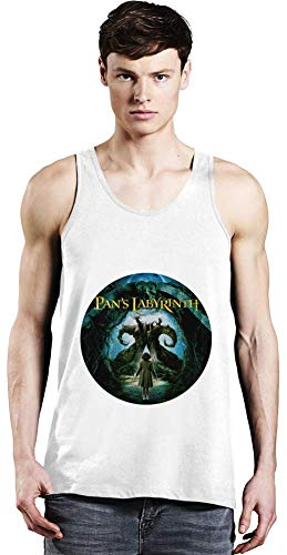 Labyrinth Tank (Movie Stars Merchandise Pan's Labyrinth Unisex Tank Top T-Shirt Men Women Stylish Fashion Fit Custom Apparel by X-Large)