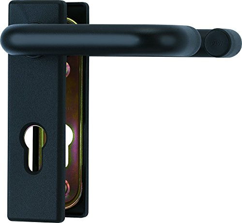 ABUS Beschlag KFG für Feuerschutztüren mit beidseitigem Drücker, schwarz, 21523 Test