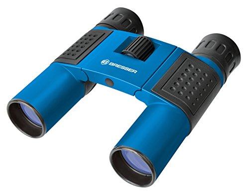 Bresser Taschenfernglas Topas 10x25, blau