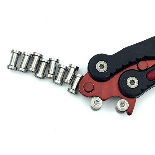 Reparatur Schraube für Schmetterling Messer (10)