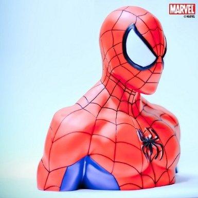 Spider-Man-The-Amazing-Spiderman-Marvel-Comcis-Money-Box-Piggy-Bank-Sparkasse