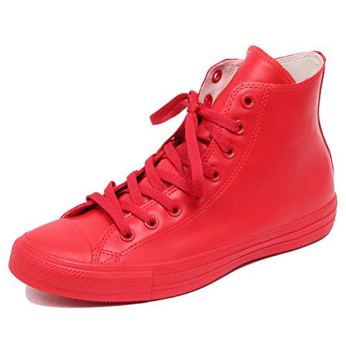 Converse Sneaker Alta all Star X Hi Rubber Rosso EU 39