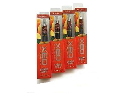 XEO Shisha2Go - Sunny Peach, elektrische Shisha, Hookah, Viererpack von Hannets® von Xeo