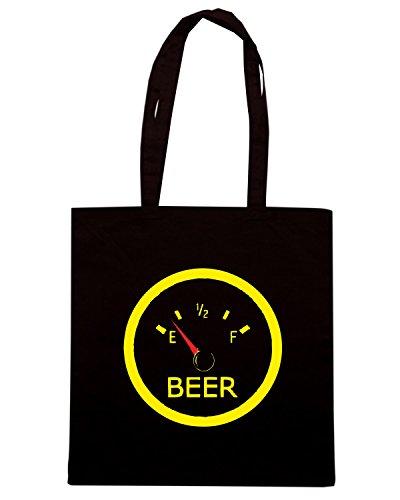 T-Shirtshock - Borsa Shopping BEER0113 Running on Empty Nero