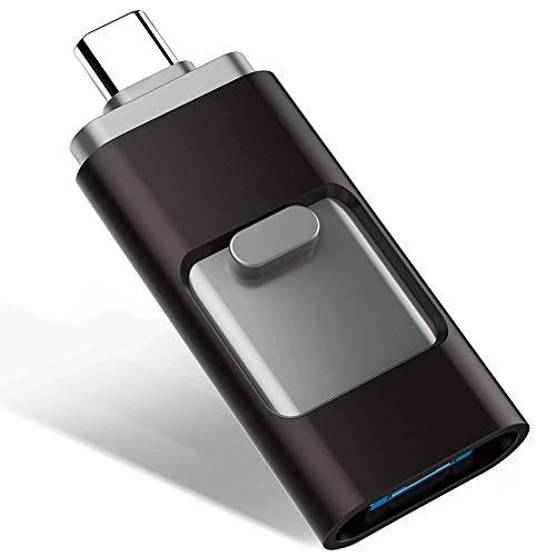 MMPY USB-Sticks Computer mit großer Kapazität 3-in-1-Memory Stick Flash-Laufwerk Daumenlaufwerk Externer Speicher USB Memory (größe : 64GB) (Refurbished Ipad Mini 64gb)