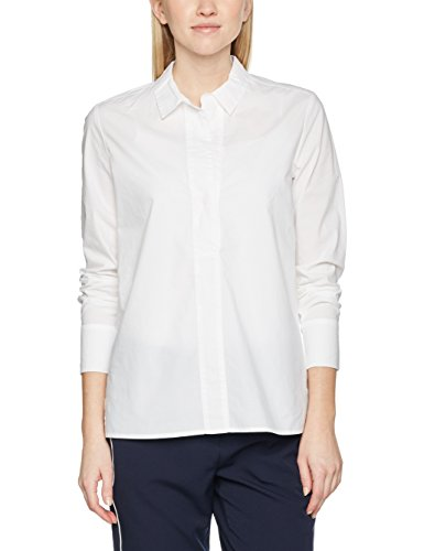 Opus Damen Bluse Ferona Sp Weiß (White 010)