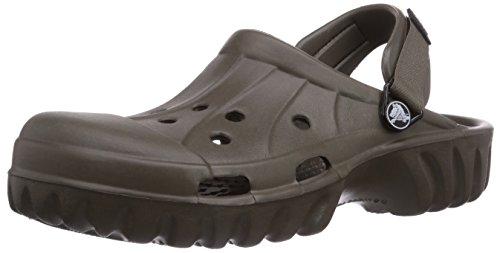 crocs  Off Road,  Sabot unisex adulto, Marrone (Braun (Chocolate/Chocolate 280)), 42.5 EU