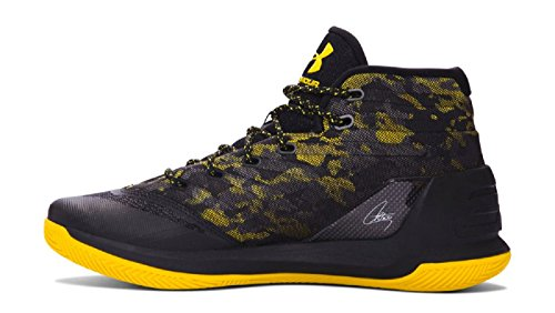 Under Armour Men's Curry 3 Basketball Shoe noir/jaune