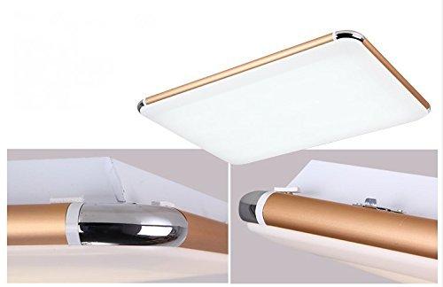 SAILUN® 48W LED Deckenleuchte Dimmbar/Warmweiß/Kaltweiß/RGB ...