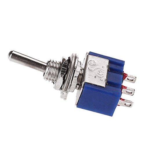 2 Vias 3 Polos On On Mini Palanca Interruptor Mini Toggle Switch a43ea993403
